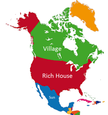 Eastern Hemisphere Map With Names totally random ...