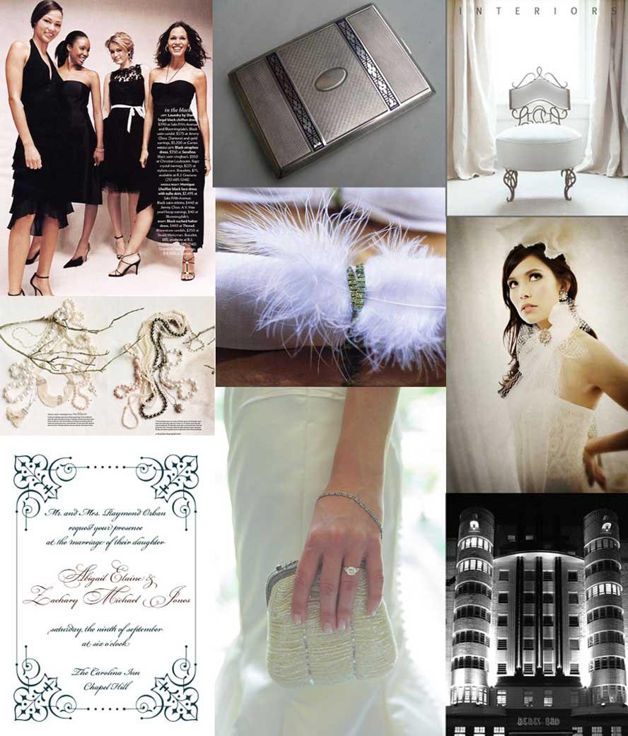 Wedding Ideas Vogue: Perfect Wedding : 1920's Style Theme Wedding