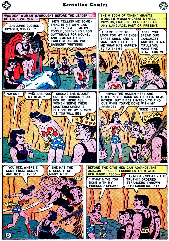 Read online Sensation (Mystery) Comics comic -  Issue #91 - 8