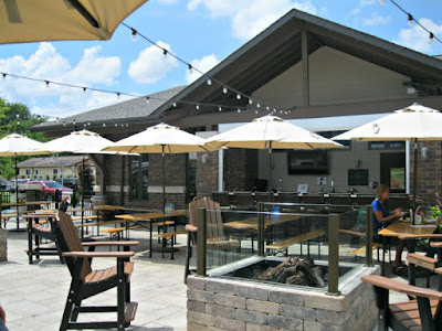 Brown Iron Brewhouse patio