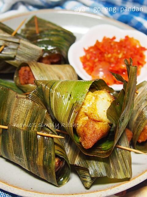 resep ayam daun pandan