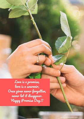 #HappyPromiseDay Wishes for Girlfriend, Boyfriend or Partner