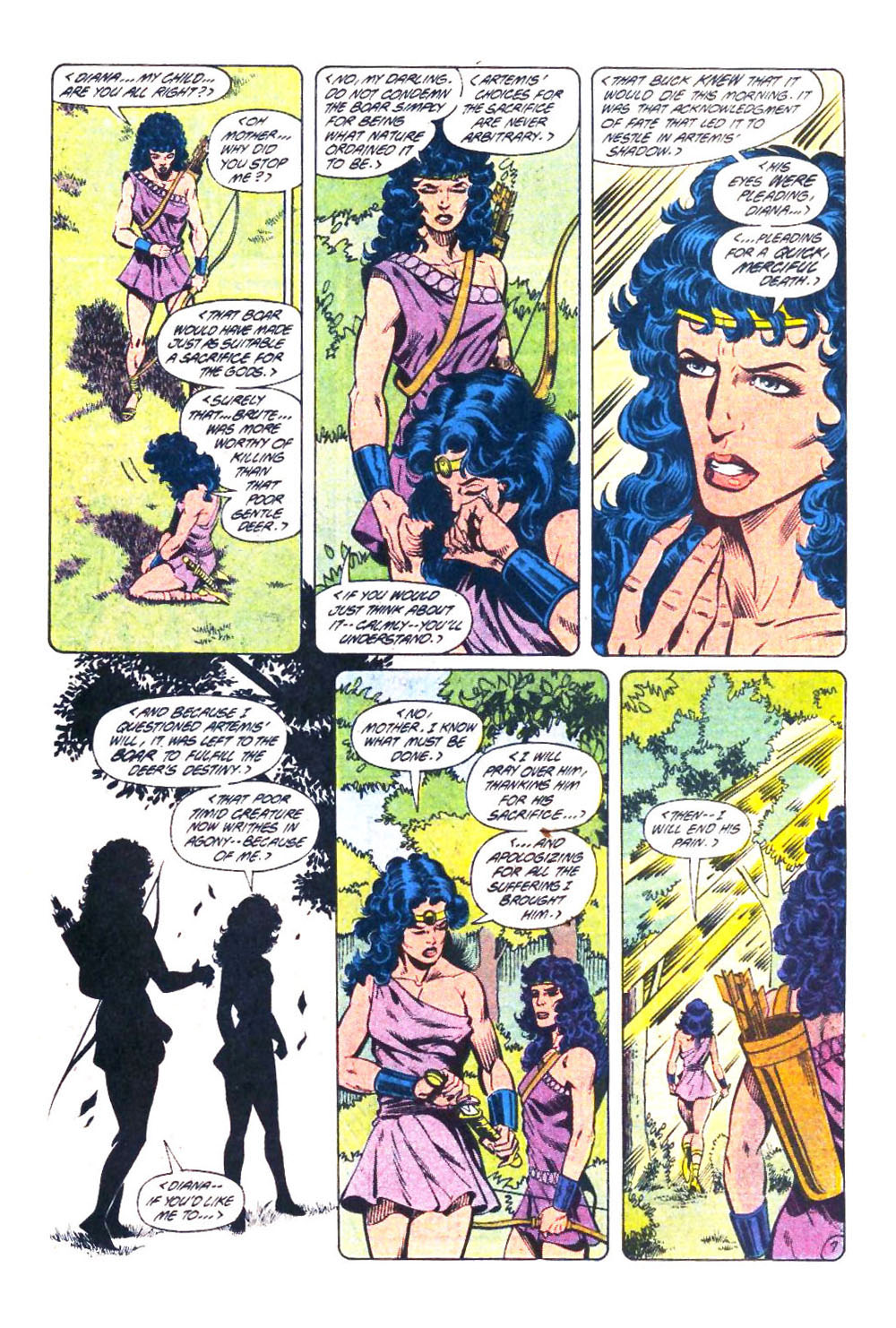 Read online Wonder Woman (1987) comic -  Issue #32 - 8