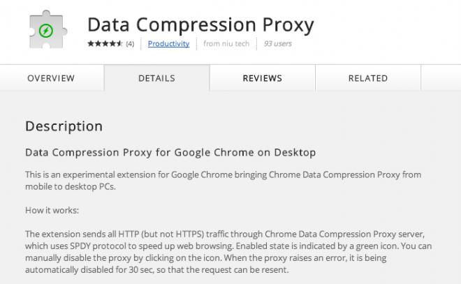 Koneksi Internet Cepat di Chrome