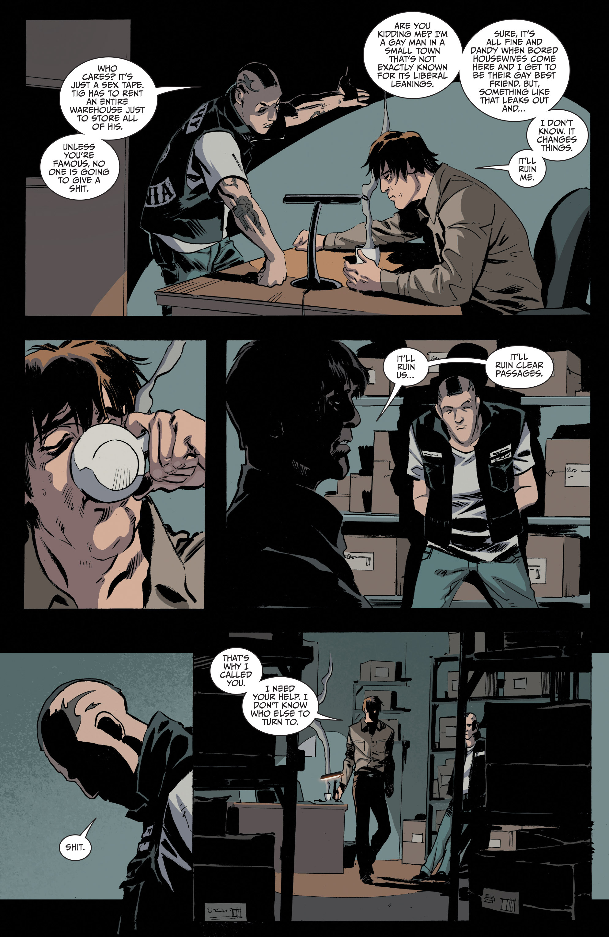 Read online Sons of Anarchy comic -  Issue #16 - 7