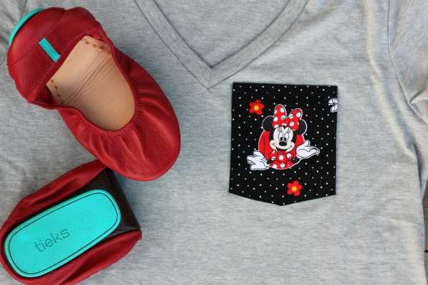 Tieks Ballet Flats at Disney World