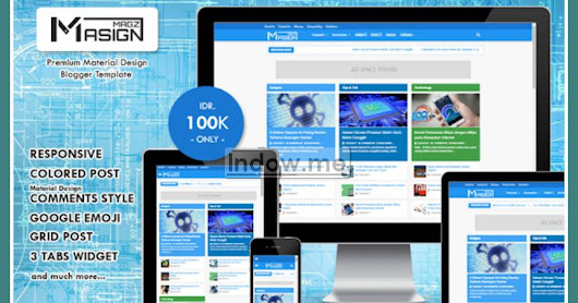 Template Blog Masign Magz Premium - Responsive SEO Ads Ready