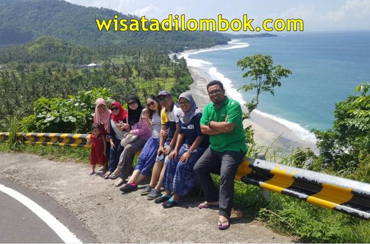 Objek Wisata di Hari ke dua yaitu Bukit Malimbu