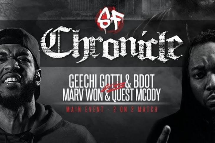 ICYMI: Geechi Gotti & BDOT vs Marv Won & Quest Mcody