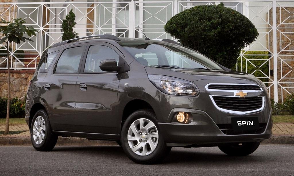 Chevrolet Brasil Present Al Spin Llega A Fin De Ao A Uruguay