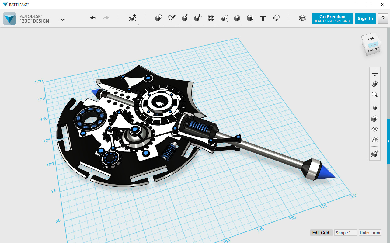 Autodesk 123d design software free download for windows Simple 3d design software