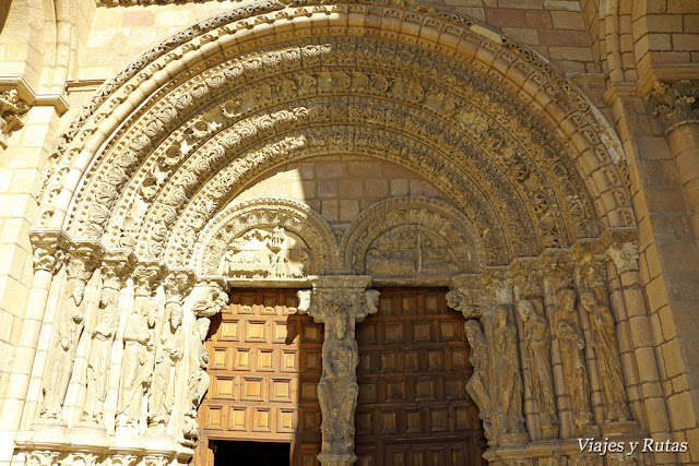 Portada de la Basílica de San Vicente, Ávila