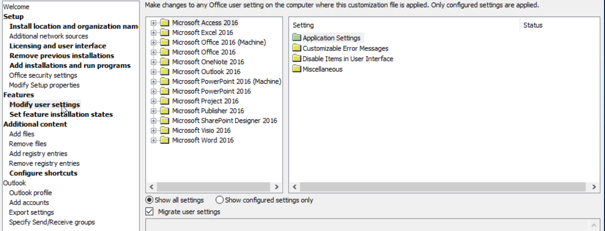 Microsoft Office 2016 and the AUTO_ACTIVATE property