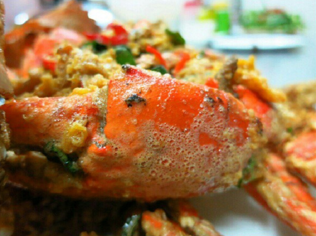 Crabs | Salted eggs yolks Recipe
