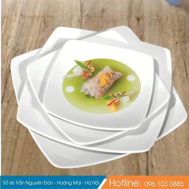 bát đĩa sứ nhà hàng