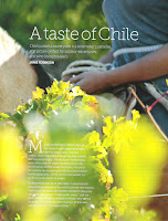 A taste of Chile. Janie Robinson, Travel Writer