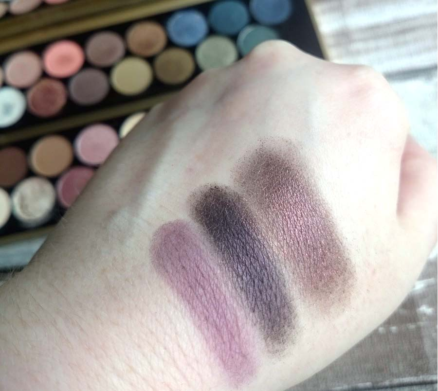 British Beauty Blogger palette, makeup revolution, the style guide blog, review