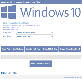 Windows 10 Permanent Activator v1.8.1