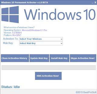 Windows 10 Permanent Activator v1.8.1