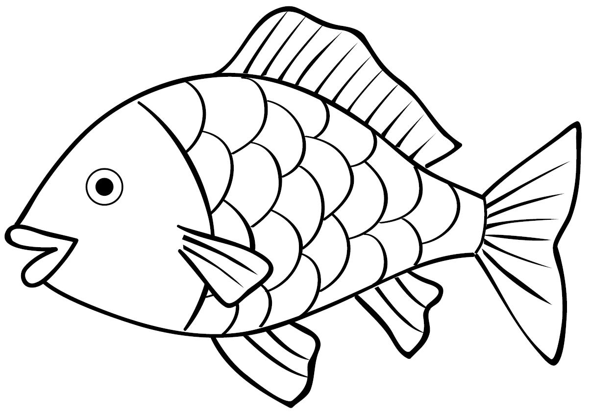Mewarnai Ikan Bersisik