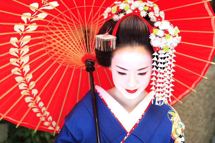 I m Japanese Traditional culture  maiko
