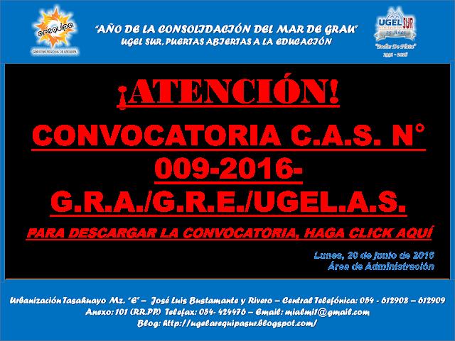 Convocatoria cas n 009 2016 gra gre noticias m s for Convocatoria para docentes 2016