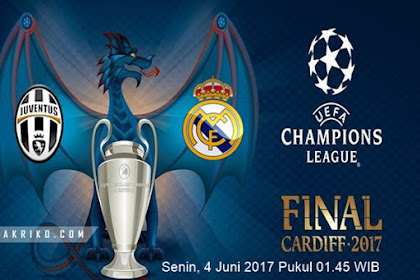 Final Liga Champion 2017 Juventus vs Real Madrid