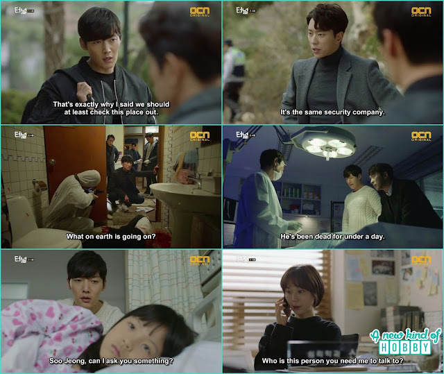 the victim sister who is the witness of scene become mute at the hospital - Tunnel: Episode 4