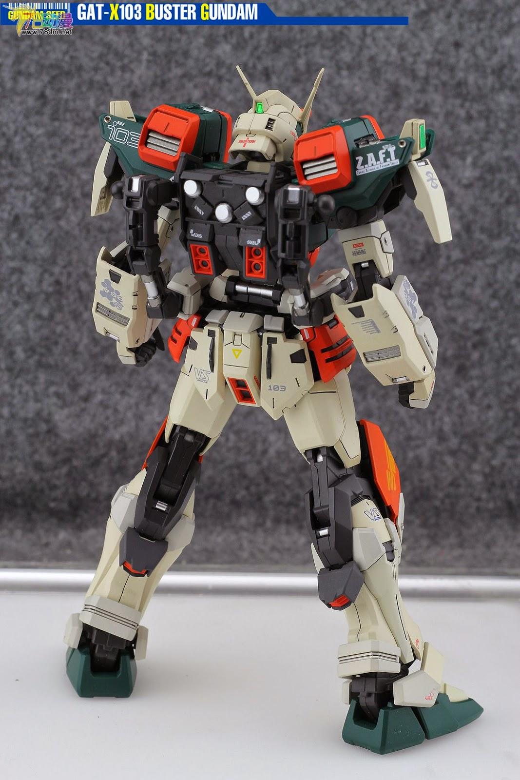 Gundam Family Mg Gat X103 Buster Gundam Custom Build
