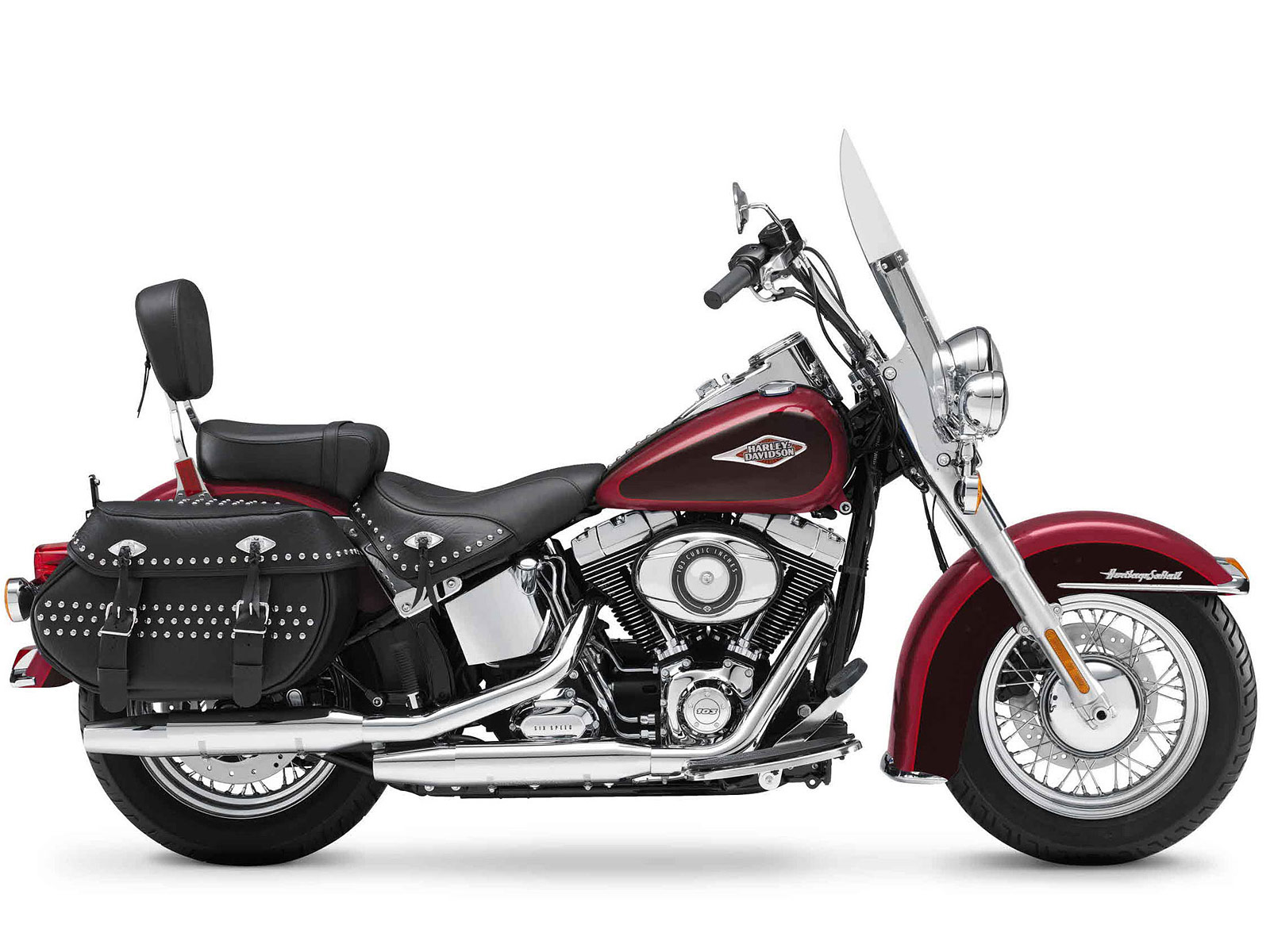 Harley Davidson Softail: 2012 FLSTC Heritage Softail Classic Harley-Davidson Pictures