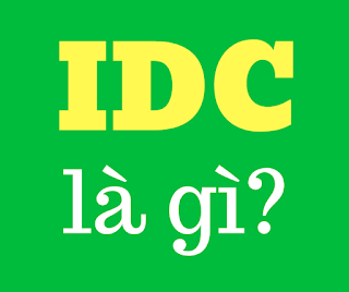 idc là gì