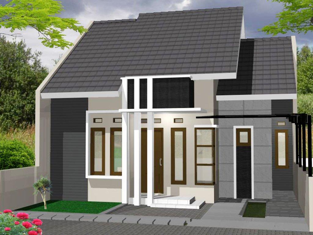 Contoh Foto Teras rumah minimalis type 45