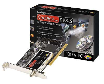 TerraTec Cinergy 1200 DVBS manual  Guide And Manual