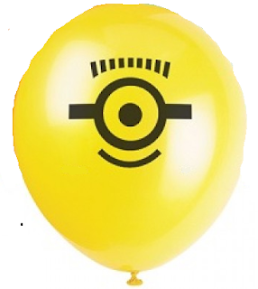 воздушный шарик с миньйонами