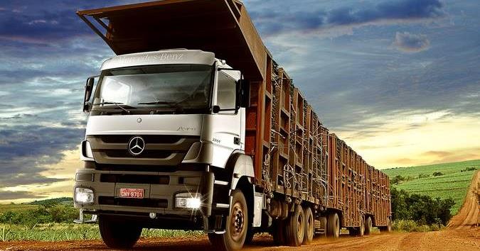 e0bc1d24195 JSL adquire 152 caminhões Mercedes-Benz Axor