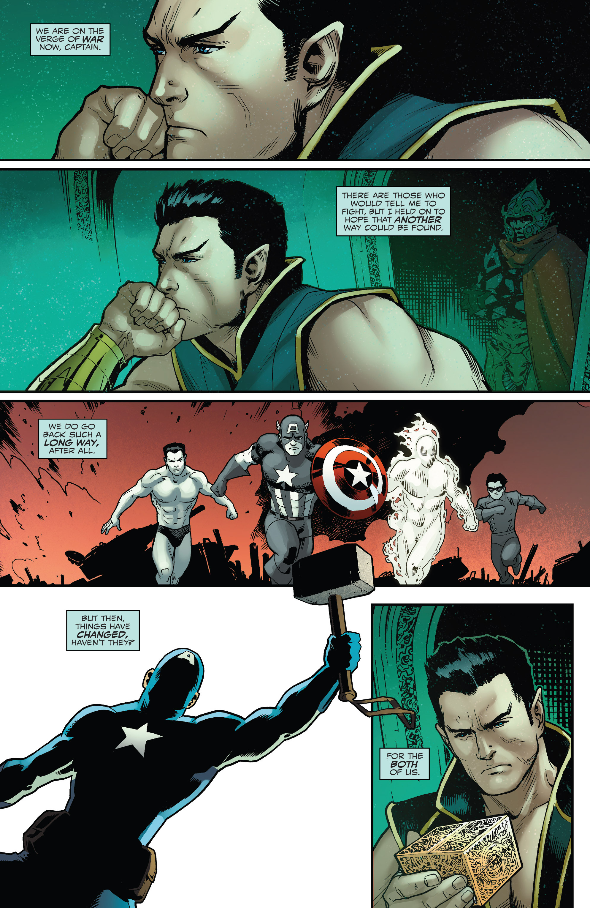 Read online Captain America: Steve Rogers comic -  Issue #18 - 3