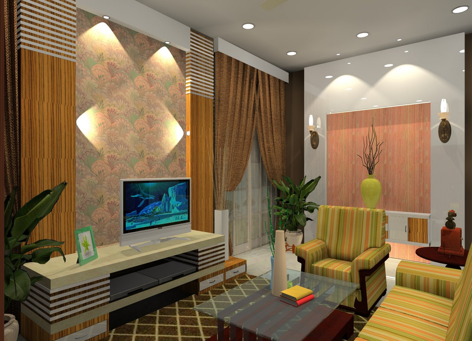 2 7 - 31+ Contemporary Small House Interior Designs  PNG