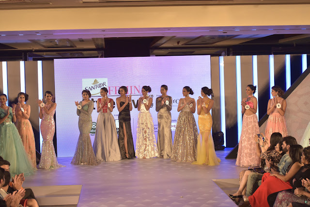Our 14 contestants take centre stage at the Santoor Femina Style Diva South at the Movenpick Hotel in Bengaluru