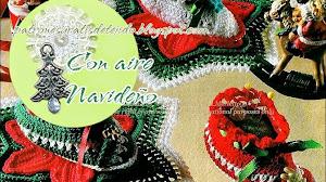 Adornos navideños para la mesa: Estrellas y botitas / esquemas crochet