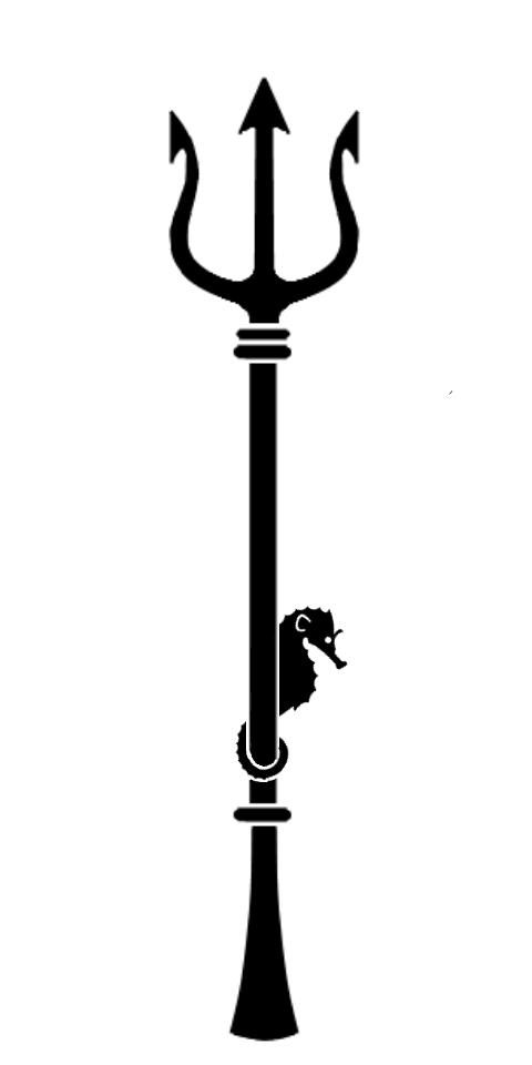 Poseidon Staff Tattoo: Coastal Bohemian: October 2014