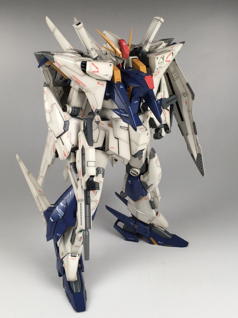 Painted Build: RECKLESS STUDIO 1/144 RX-105 Xi Gundam