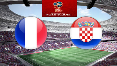 Live Streaming France vs Croatia Final Piala Dunia 15.7.2018