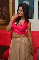 Akshita super cute Pink Choli at south indian thalis and filmy breakfast in Filmy Junction inaguration by Gopichand ~  Exclusive 073.JPG