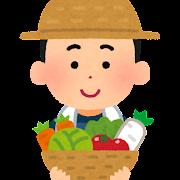 農家の男の子のイラスト(将来の夢)