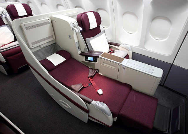 Flatbed Seats Qatar Airways Business Class