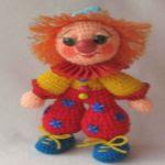patron gratis payaso amigurumi | free amigurumi pattern clown