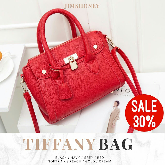 Jims Honey Tiffany Bag Red