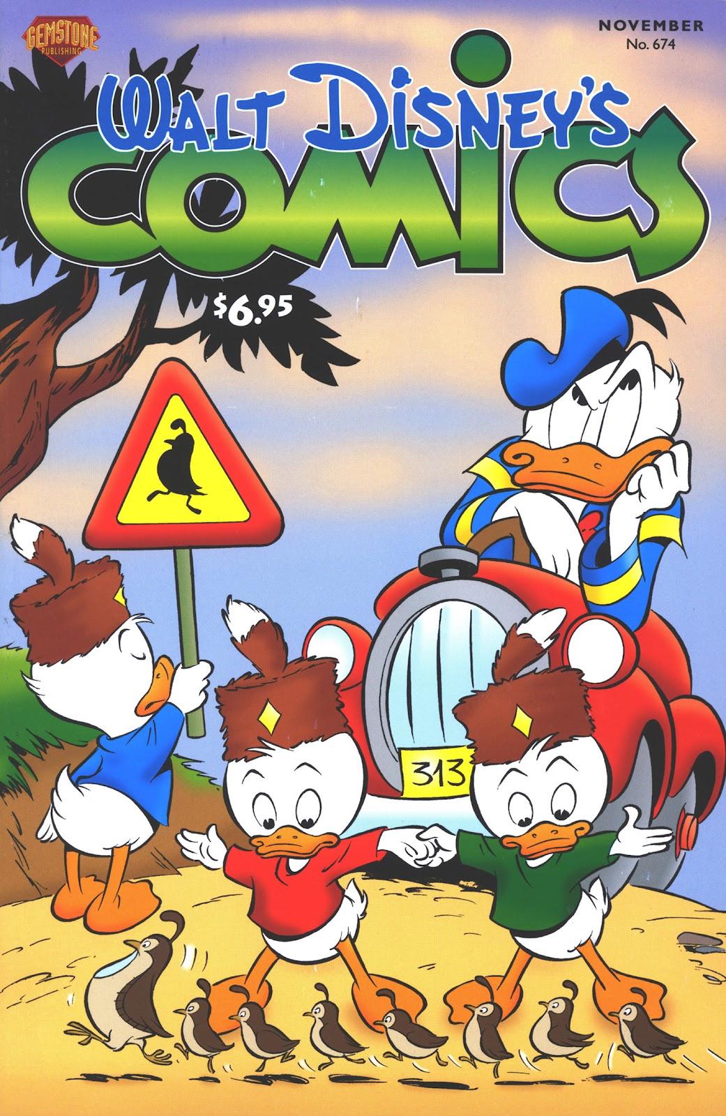 Walt Disneys Comics and Stories 674 Page 1
