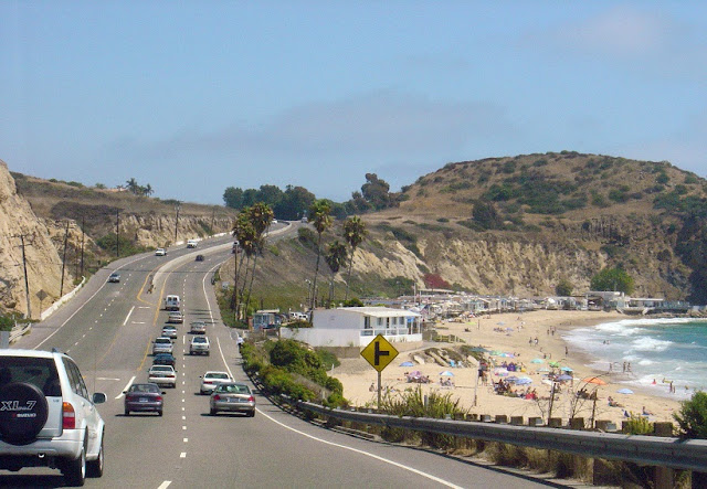 Litoral californiano pela Highway 1