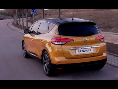 2017 Renault Grand Scenic MPV rear Hd Images